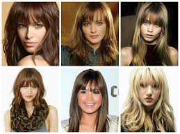 hairstyles for straight across bangs the best layered bangs hairstyles hair world magazine