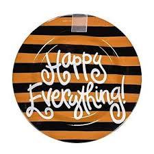 happy everything platter ndb camel stripe big happy everything platter ebay