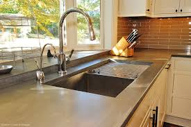 Concrete Kitchen Sink by Almunium Polished Concrete Countertops Interior Pinterest