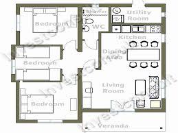 small 4 bedroom floor plans easy 4 bedroom house plans luxury small 3 bedroom house floor plans