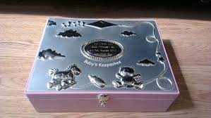 silver keepsake box baby keepsake box boy in bodacious keepsake box along with