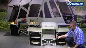 outwell kitchen table camrose 2014 innovative family camping