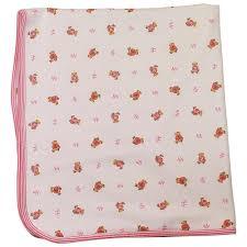 Ralph Lauren Blankets Ralph Lauren Blanket With Teddy Bear Pink Baby From