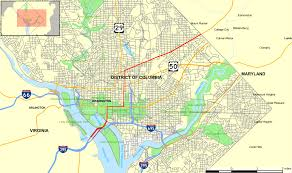 Map Of The National Mall U S Route 1 In The District Of Columbia Wikipedia