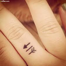50 most amazing arrow finger tattoos u2013 latest finger tattoo