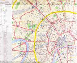 Moscow On Map City Map Of Moscow Russia Itm U2013 Mapscompany