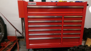 homak side box mounted to a us general tool cabinet youtube