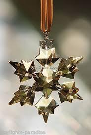 swarovski swarovski 2010 ornament gold scs members