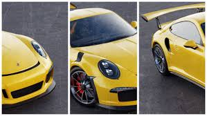 porsche gt3 rs yellow porsche 911 gt3 rs version 2 render by leonardo carvalho vieira