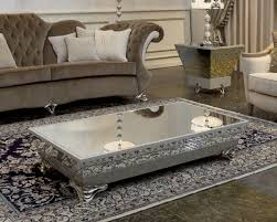 small mirrored coffee table howard elliott living room mirrored trends also mirror tables