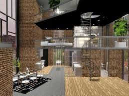 Modern Loft Style House Plans 25 Best Sims 4 Loft Ideas On Pinterest Sims 4 Houses Layout 3d