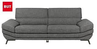 canapé gris but canapé but génial canapã but pour un salon simple et moderne