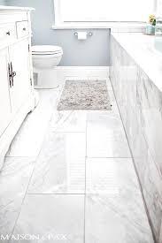Tile Floor Designs For Bathrooms Inspiring White Bathroom Floor Tile Ideas White Tile Floors Tile