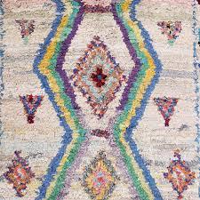 boucherouite rug colourful carpet from marrakesh handmade rug