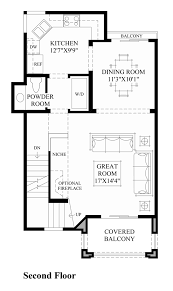 2nd floor floor plan 3 story th plan pinterest townhouse and