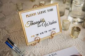 invitations more photos gold thoughts wishes sign inside
