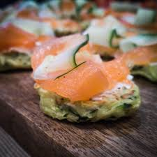 zucchini blinis with smoked salmon u0026 cream cheese christmas