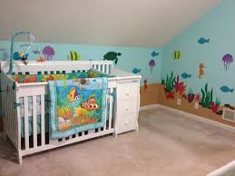 Finding Nemo Crib Bedding Finding Nemo Bedroom Rug Furniture Dory Valance Themed Nursery