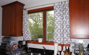 kitchen drapery ideas black and white valances for windows traditional style kitchen
