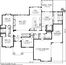 traditional style house plan 3 beds 2 50 baths 2584 sq ft plan