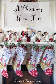 peonies and orange blossoms christmas house tour 2016 part 1