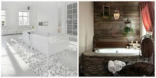 deco salle de bain avec baignoire salle de bain et bois une beauté naturelle ideeco