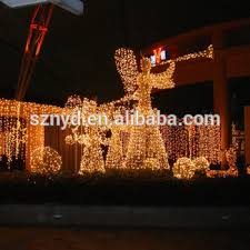 Outdoor Christmas Decor Angels by 3d Angel Led Light Led Acrylic Outdoor Christmas Decorations With