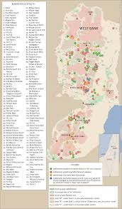 Indiana Zip Code Map A Map Of West Bank Jewish Settlements And Outposts Israel U0027s Next