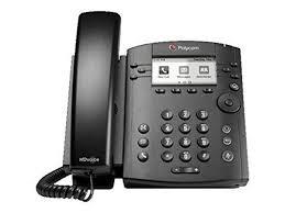 Line Desk Polycom Vvx310 6 Line Desk Phone Gigabit Poe No Power Supply