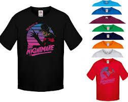 Kids Freddy Krueger Halloween Costume Freddy Krueger Shirt Etsy
