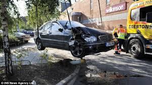tory mp tony baldry crashes car into portable toilet poundland