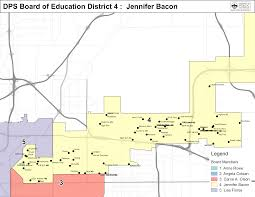 Denver Neighborhoods Map Dps Board District Maps Board Of Education