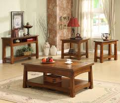 Craftsman Style Dining Room Furniture by Riverside Furniture Craftsman Home Console Table With Slate Tile
