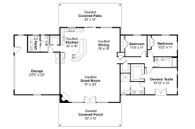 cool and opulent 4 single storey house floor plan one level floor