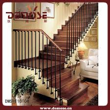 L Shaped Stairs Design China The Interior Wood Stair Dms T10104 China The Wooden