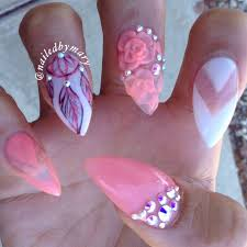40 latest 3d acrylic paint nail art design ideas