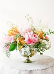 picture of vivid summer wedding centerpieces