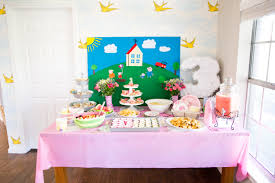 Peppa Pig Room Decor A Peppa Pig Tea Party Birthday Taylormade