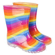 light up rain boots kid s rainbow light up rainboot light shiekh shoes
