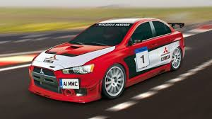 mitsubishi car 2008 mitsubishi announces lancer evolution x race car program uk