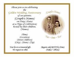 50th wedding anniversary program sles of 50th wedding invitation orderecigsjuice info