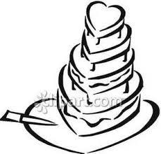 black and white wedding cake clip clipart panda free