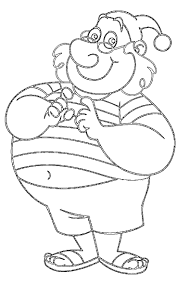 family coloring page inside omeletta me