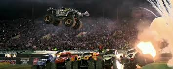 monster truck show at dodger stadium monster jam at marlins park mlb com