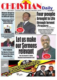 christian daily newspaper 4th issue by christian guide newspaper