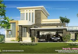 Medium Sized Houses Roof Simple Flat Roof House Designs Plans And Stunning For