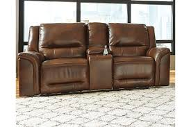 jayron power reclining loveseat with console ashley furniture