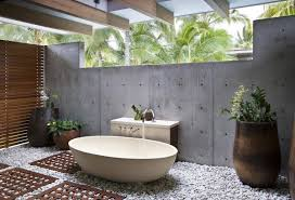 outside bathroom ideas comfortable outside bathtub contemporary bathroom with bathtub