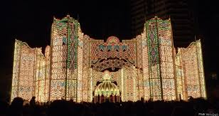 christmas light show packages 10 amazing christmas light displays around the world photos huffpost