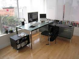 astounding contemporary office decor ideas with simple furnishing
